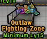 Outlaw Fighting Zone Icon Active