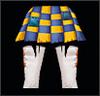 Low Pierrot`s Pants Female