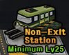 Non-Exit Station Icon Active