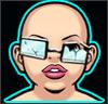 Unique Inventor`s Face Lilru