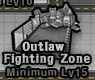 Outlaw Fighting Zone Icon Passive
