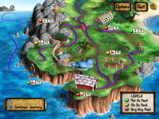 Zoombini Isle Map