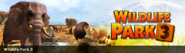 Wildlife Park 3 Banner