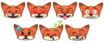 Nick Wilde Emojis