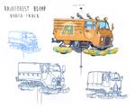 Rainforest Blimp Under-Truck