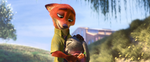 Judy and Nick hugging