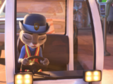 Judy's meter maid cart