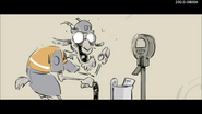 The Old Goat meter maid storyboard
