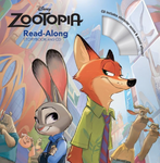 Zootopia Read Along Book and CD