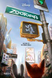 Zootopia Teaser Poster