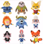 Zootopia Japanese plushes