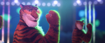 TigerSassyPose