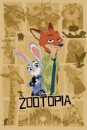 Printed Zootopia