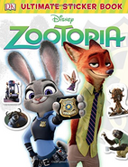 StickerBookZootopia