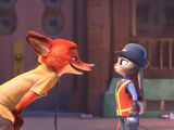 Judy and Nick's relationship