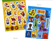 Zootopia Mini Sticker Coloring Set Disney Child Gift Deco Fun Play Diary Present4