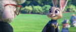 Judy containing the excitement