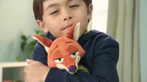 Zootopia Feature Plush Nick