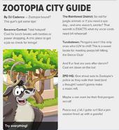 Zootopia City Guide CP