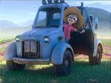 Hopps Family Farm truck