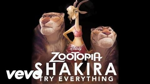 "Shakira - Try Everything (From ""Zootopia"" (Audio Only))"