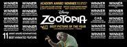 Zootopia awards sheet