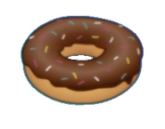 Donut transparent