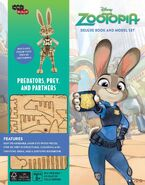 IncrediBuilds Zootopia Deluxe Book and Model Set