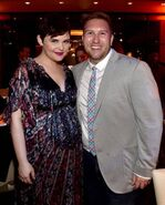 Ginnifer with Nate