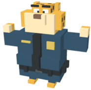 Clawhauser - Disney Crossy Road