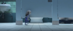 Judy Walking To The Toilet