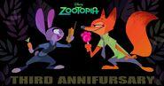 Happy Annifursary Zootopia