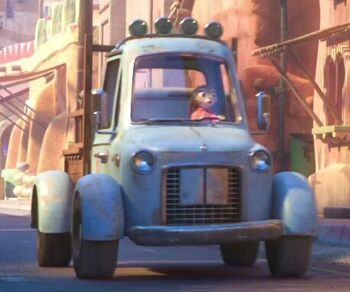 Hopps Family Farm Truck Zootopia Wiki Fandom Powered