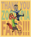 Thank You Zootopia Fans