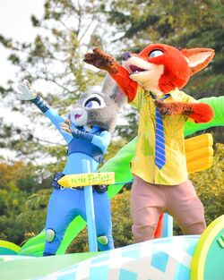 Judy and Nick Pointing