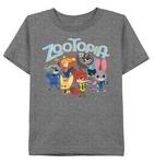Gray Characters Shirt
