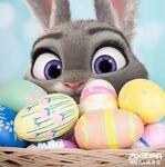 Judy in Easter Basket