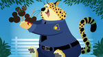 Clawhauser Ice Cream