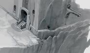 Cliffside Door