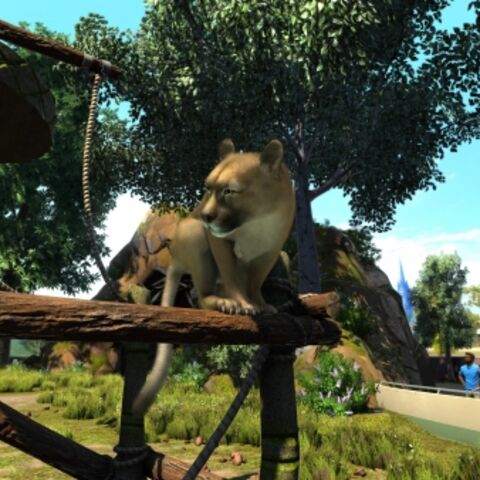 Mountain Lion appears in Zoo Tycoon: Ultimate Animal Collection