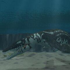 Liopleurodon from <i>Zoo Tycoon 2: Formidable Seas</i>
