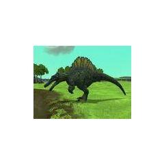 <i>Spinosaurus</i> from <i>Zoo Tycoon 2: Cretaceous Calamity</i> (circa 2009)