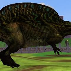 <i>Spinosaurus</i> from <i>Zoo Tycoon 2: Cretaceous Calamity</i> (circa 2014)