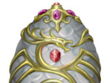 Jewel encrusted egg