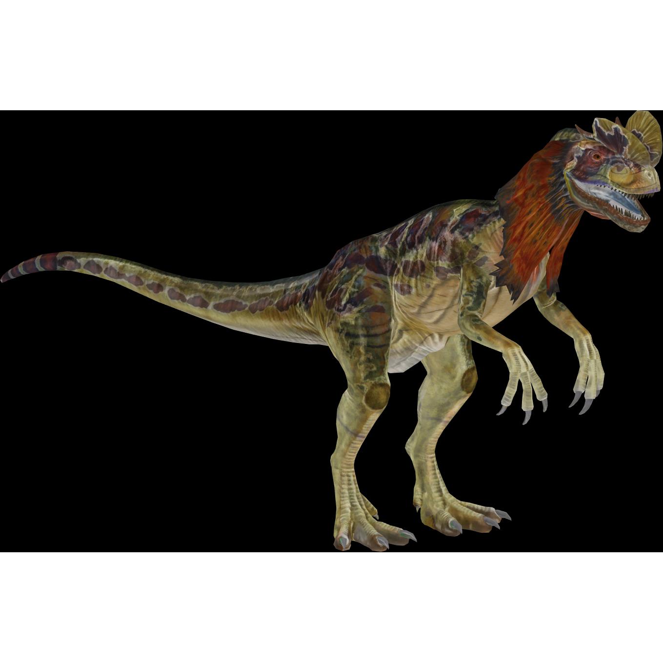 jurassic world dilophosaurus zoo tycoon 2 thailand  zt2