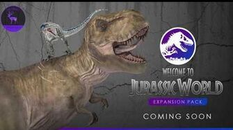 Welcome to JURASSIC WORLD pack coming soon..