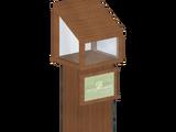 Wooden Donation Boxes (Zebrasorus)