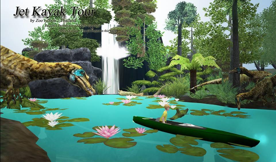 Jet Kayak Tour Zoo Tycoon 2 Thailand Zt2 Download