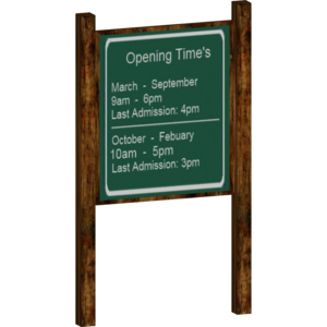 Opening Times Board (itsme37)