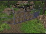 Dinosaur Cable Fence (Zebrasorus)